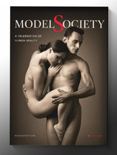 Model Society Magazine cover art free issue