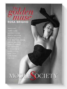 Rosa Brighid special edition magazine issue