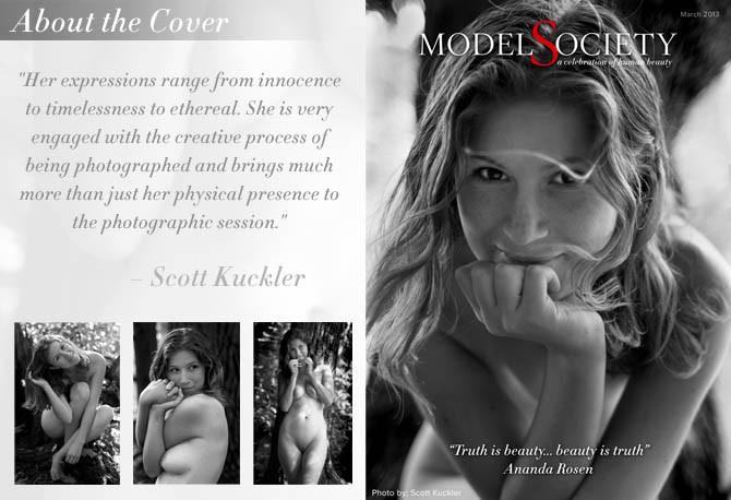 Nude Art model Ananda Rosen and Photographer Scott Kuckler