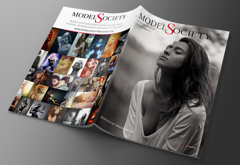 Model Society Magazine issue 3 back cover art