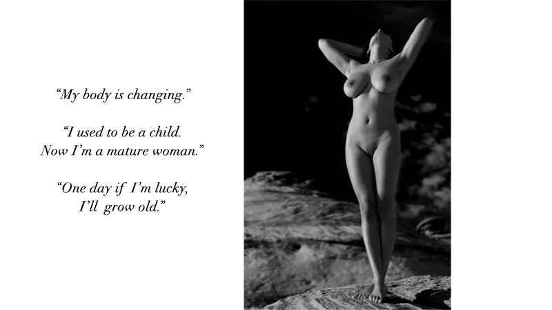 Naked women on lake powell