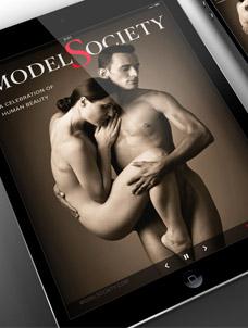 Model Society Magazine iOS app